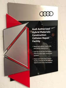 audi authorized hybrid materials certificate