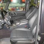 Inside of Mercedes G63