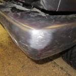 Mercedes G63 bumper damage