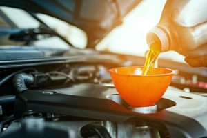 changing oil for your car