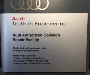 audio certified collision repair facility
